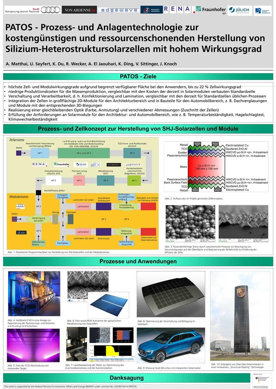 a2-solar Verbundprojekt PATOS