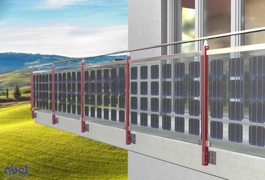 Solar balcony railings by a2-solar